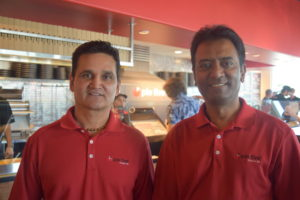 Pie Five's Sudesh and Chirag