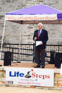 Congressman John Carter talked about the Comprehensive Addiction and Recovery Act of 2016, which awards grants to address emerging national epidemics of heroin and prescription drug addiction.