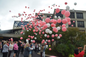 St David's Georgetown 2015 balloon release