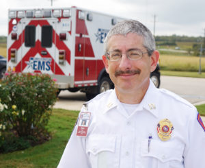 Captain Dan Cohen, EMS Clinical Practices and video producer.