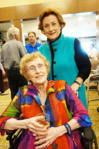 Marlene McMichael and mom Marie Banta (a Foundation resident)