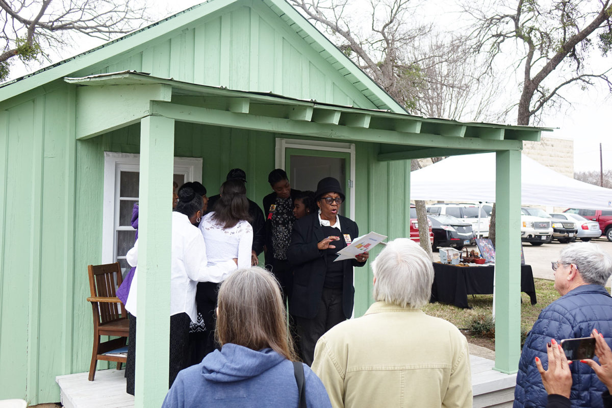Shotgun Home Shotgun House Re Enactment For Black History Month Advocate